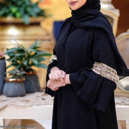 مدل مانتو عبایی عربی