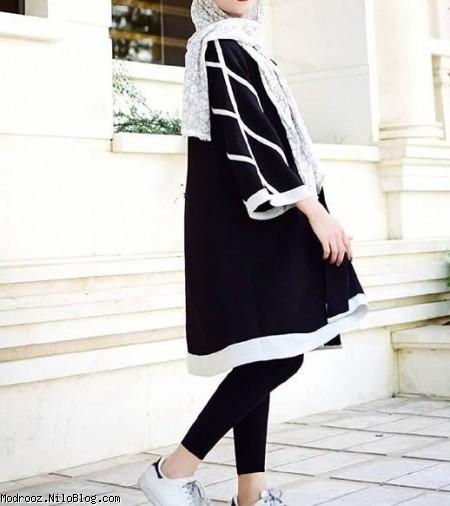 مدل مانتو مجلسی سنتی دخترانه