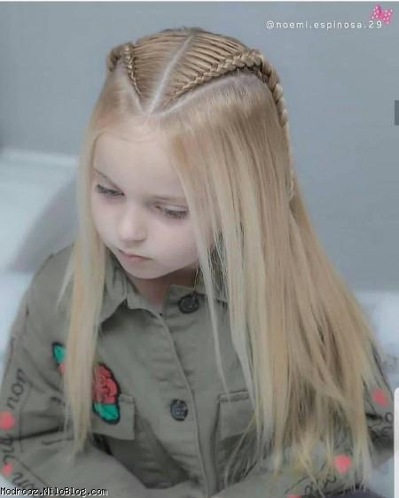 مدل بافت مو دخترانه جدید99