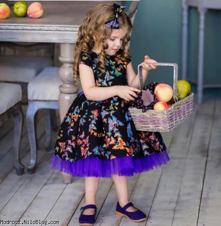 مدل لباس دختربچه مجلسی 2020